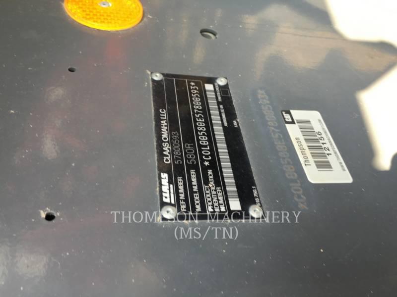 LEXION COMBINE AG TRACTORS LX580R equipment  photo 3
