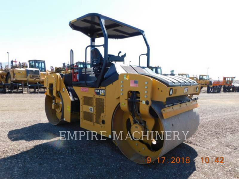 CATERPILLAR TANDEMVIBRATIONSWALZE, ASPHALT CB54B equipment  photo 1