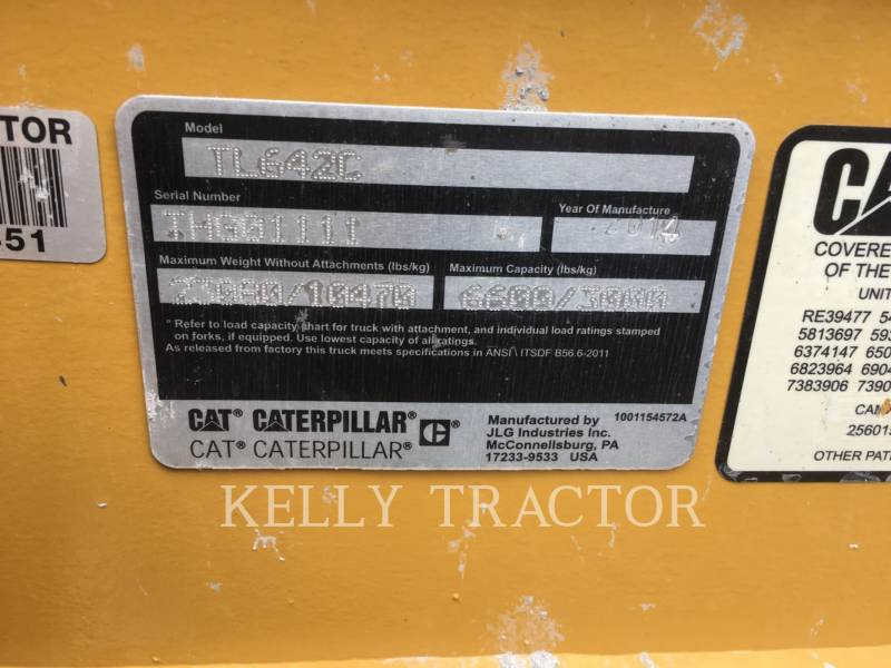 CATERPILLAR TELESKOPSTAPLER TL642C equipment  photo 19