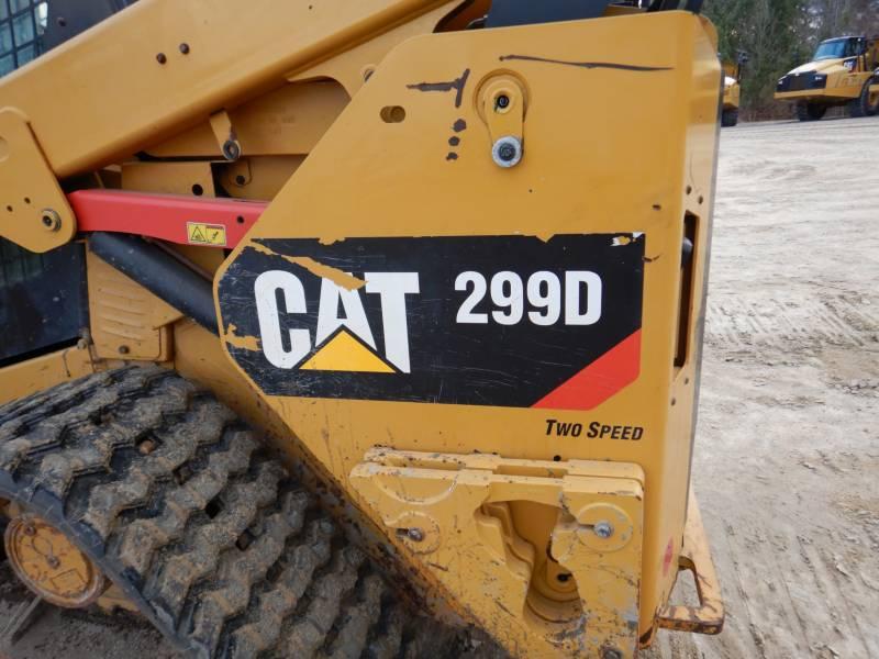 CATERPILLAR CHARGEURS TOUT TERRAIN 299D equipment  photo 24