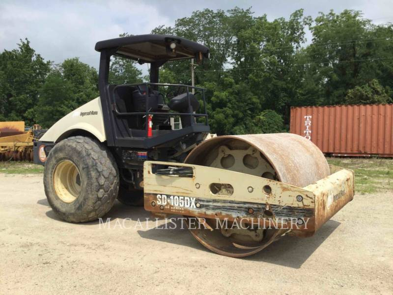 INGERSOLL-RAND EINZELVIBRATIONSWALZE, GLATTBANDAGE SD-105DX TF equipment  photo 1