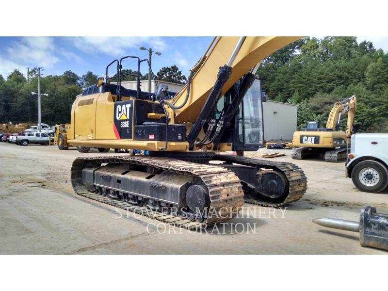 CATERPILLAR TRACK EXCAVATORS 336EL HAM equipment  photo 2