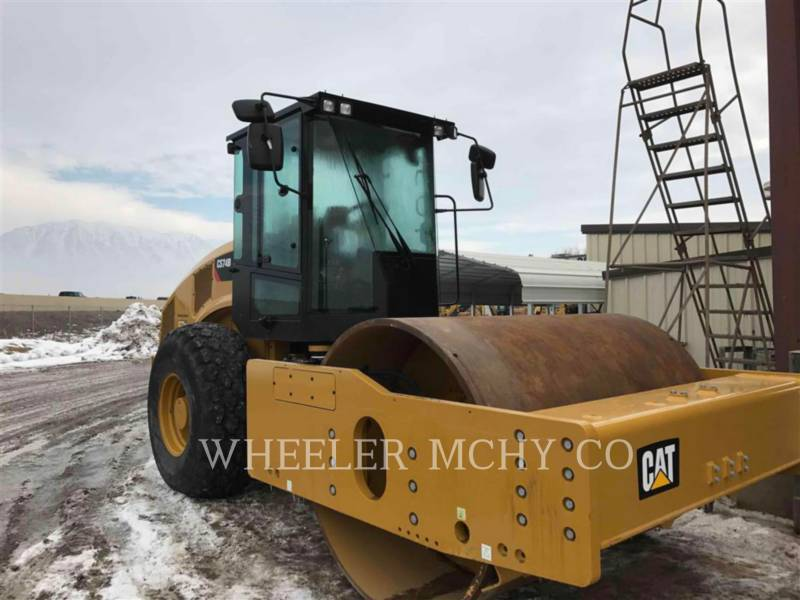 CATERPILLAR VIBRATORY SINGLE DRUM SMOOTH CS74B equipment  photo 2