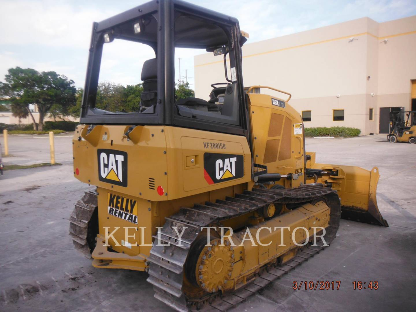 Detail photo of 2015 Caterpillar D3K from Construction Equipment Guide