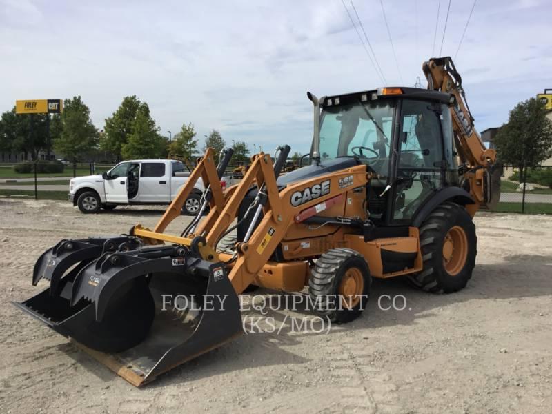 CASE BAGGERLADER 580SN equipment  photo 1