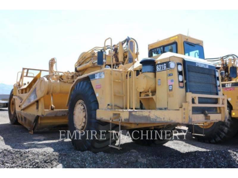 CATERPILLAR SCRAPER PER TRATTORI GOMMATI 631G equipment  photo 8