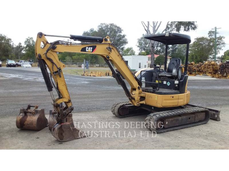 CATERPILLAR KETTEN-HYDRAULIKBAGGER 304DCR equipment  photo 1