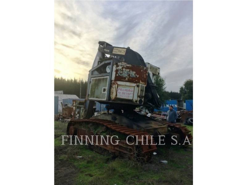 TIMBCO FORESTRY - FELLER BUNCHERS - TRACK T445D equipment  photo 3