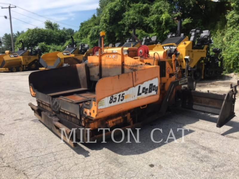 LEE-BOY PAVIMENTADORES DE ASFALTO 8515 equipment  photo 1