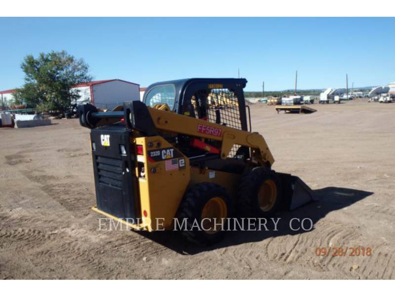 CATERPILLAR SCHRANKLADERS 232D equipment  photo 2