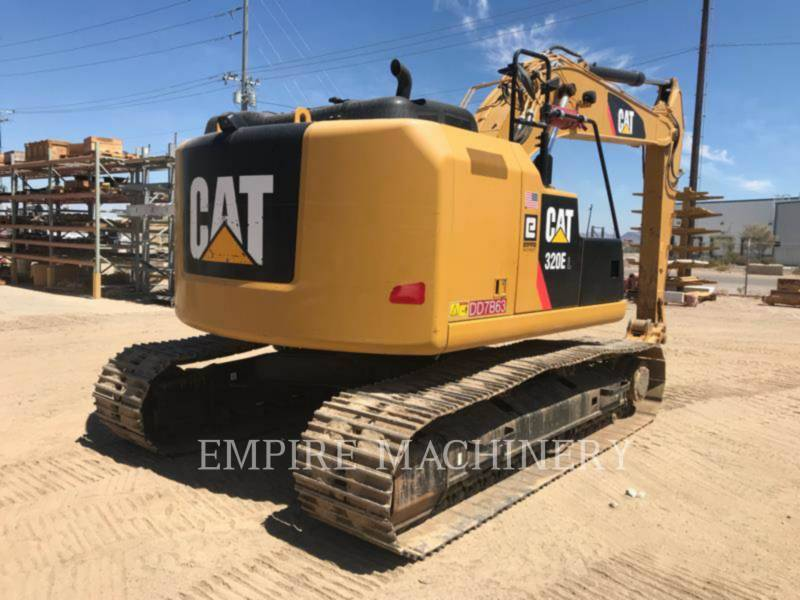 CATERPILLAR KETTEN-HYDRAULIKBAGGER 320ELRR equipment  photo 3