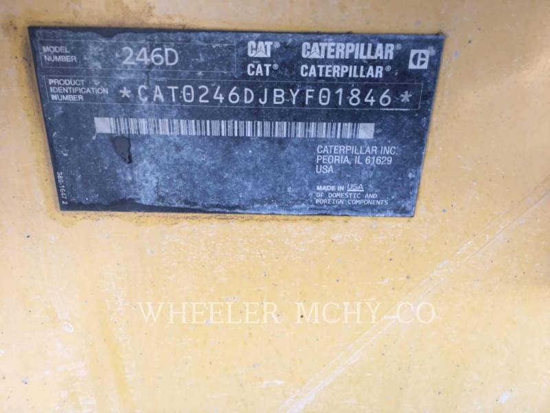 CATERPILLAR SKID STEER LOADERS 246D C3-H2 equipment  photo 2