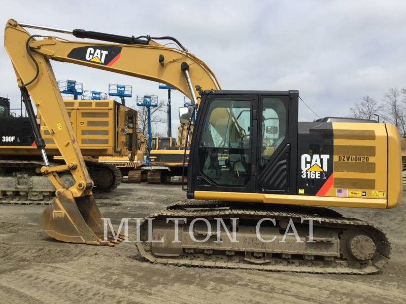 CATERPILLAR TRACK EXCAVATORS 316E L equipment  photo 8