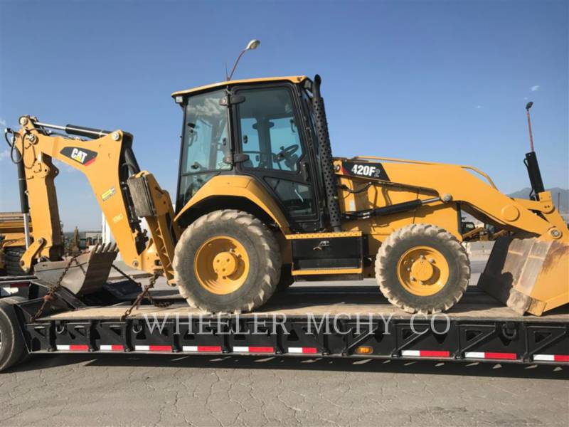 CATERPILLAR BACKHOE LOADERS 420F2 E equipment  photo 2