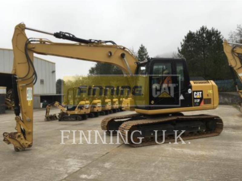 Caterpillar EXCAVATOARE PE ŞENILE 313FL GC equipment  photo 2