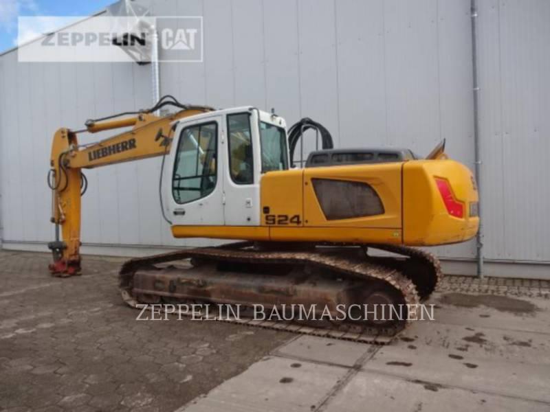 LIEBHERR PELLES SUR CHAINES R924 equipment  photo 2