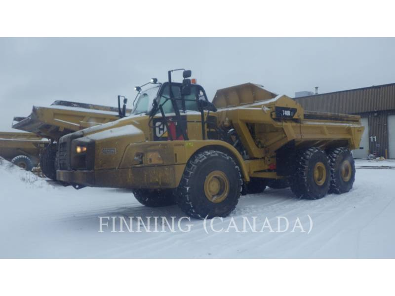 CATERPILLAR ARTICULATED TRUCKS 740B EJ equipment  photo 1