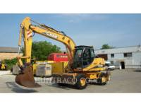 Equipment photo CASE WX 165 SERIES 2 WHEEL EXCAVATORS 1