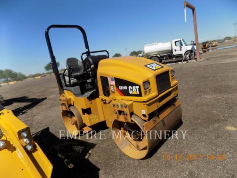 CATERPILLAR COMPACTEURS TANDEMS VIBRANTS CB24B equipment  photo 4