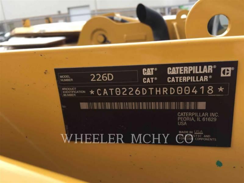 CATERPILLAR MINICARGADORAS 226D C3 equipment  photo 5