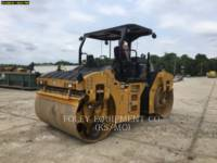 Equipment photo CATERPILLAR CB66B TRILLENDE DUBBELE TROMMELASFALTEERMACHINE 1
