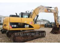 Equipment photo CATERPILLAR 315DL FORSTWIRTSCHAFT - HYDRAULIKBAGGER 1