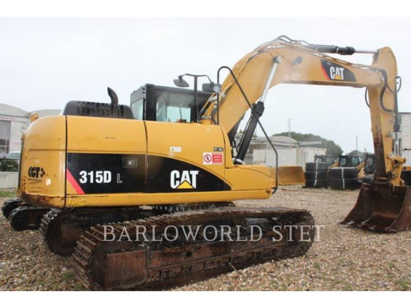 CATERPILLAR LEŚNICTWO - KOPARKA 315DL equipment  photo 1