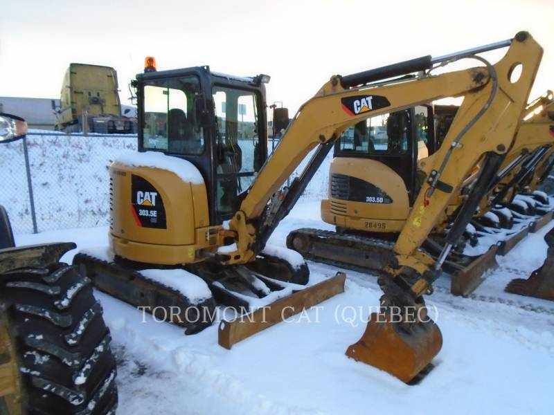 CATERPILLAR EXCAVADORAS DE CADENAS 303.5ECR equipment  photo 1