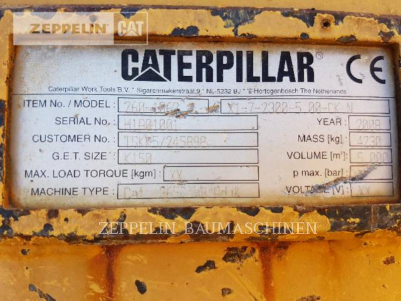 CATERPILLAR OTHER 365CL/374 FTL 2.30m equipment  photo 7