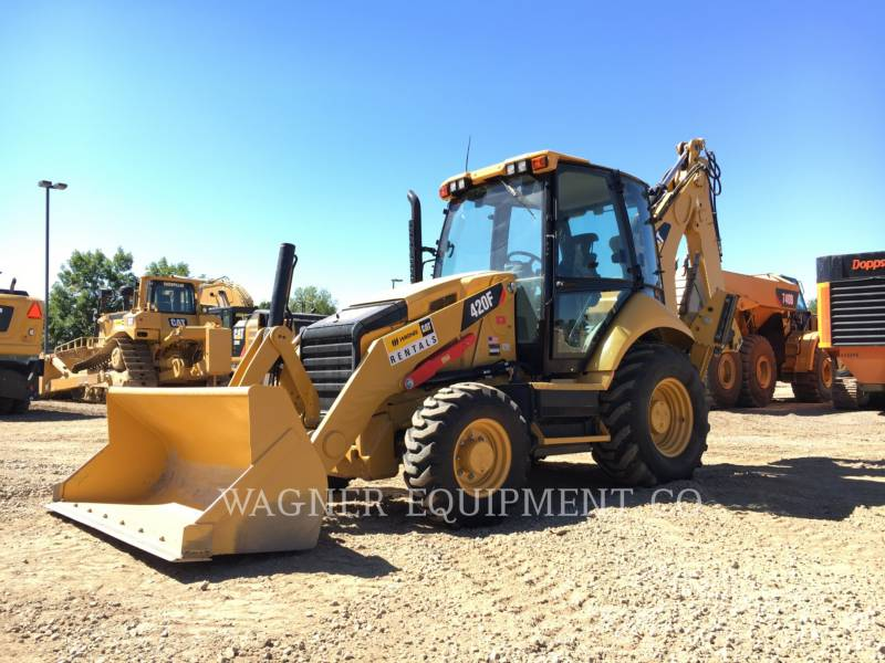 CATERPILLAR バックホーローダ 420F 4WDE equipment  photo 1