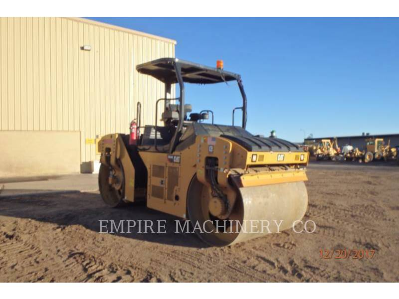 CATERPILLAR TANDEMOWY WALEC WIBRACYJNY DO ASFALTU (STAL-STAL) CB54B equipment  photo 1