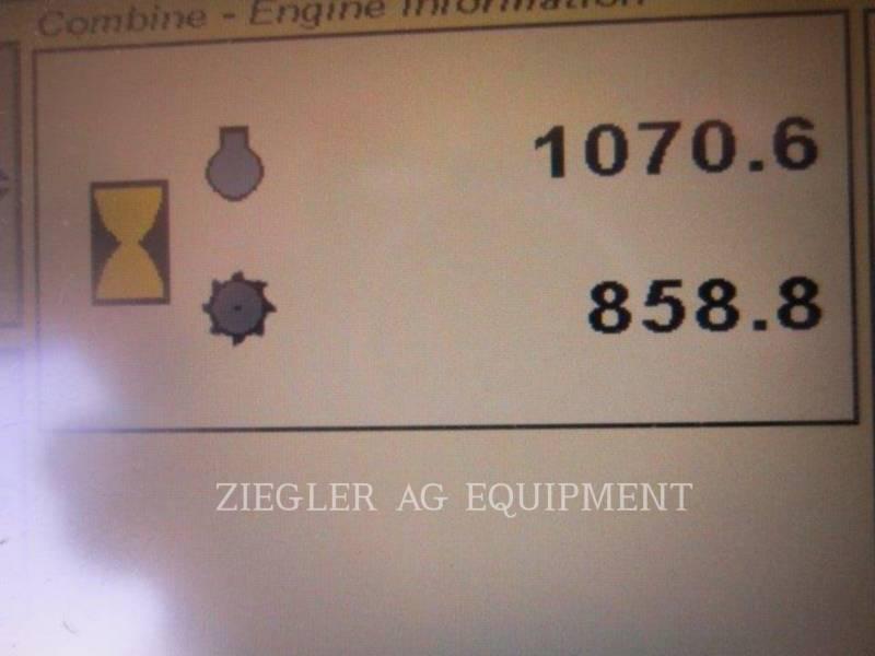 DEERE & CO. コンバイン S550 equipment  photo 9