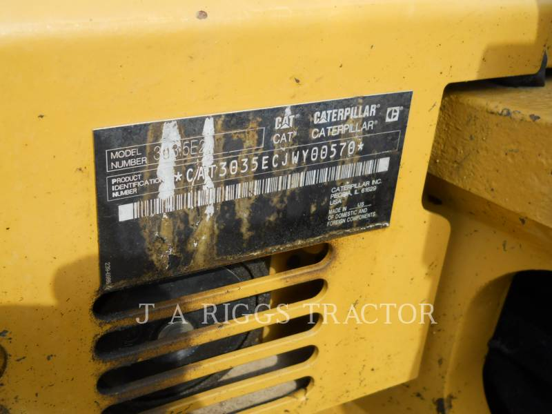 CATERPILLAR TRACK EXCAVATORS 303.5E2CR equipment  photo 24