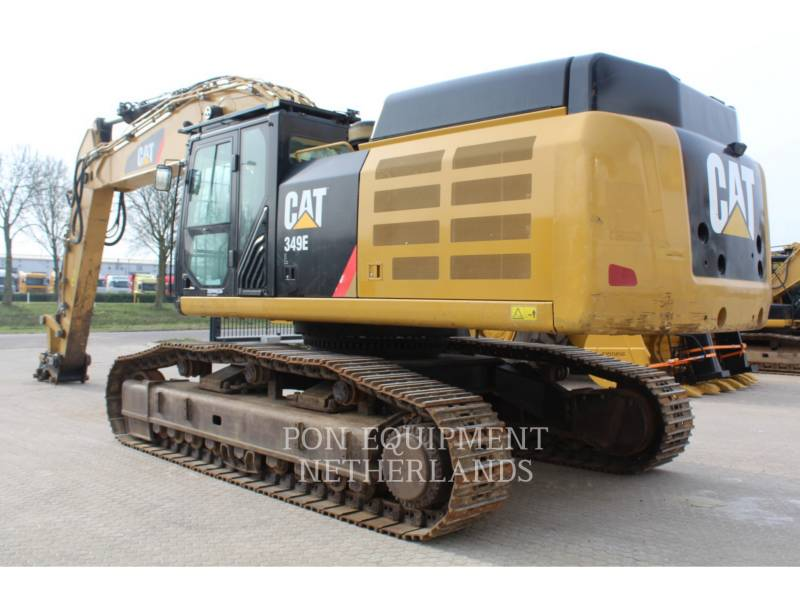 CATERPILLAR KETTEN-HYDRAULIKBAGGER 349 EL VG equipment  photo 3