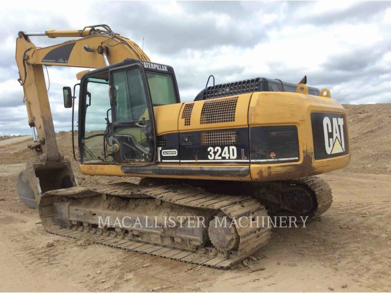 CATERPILLAR KETTEN-HYDRAULIKBAGGER 324DL equipment  photo 12