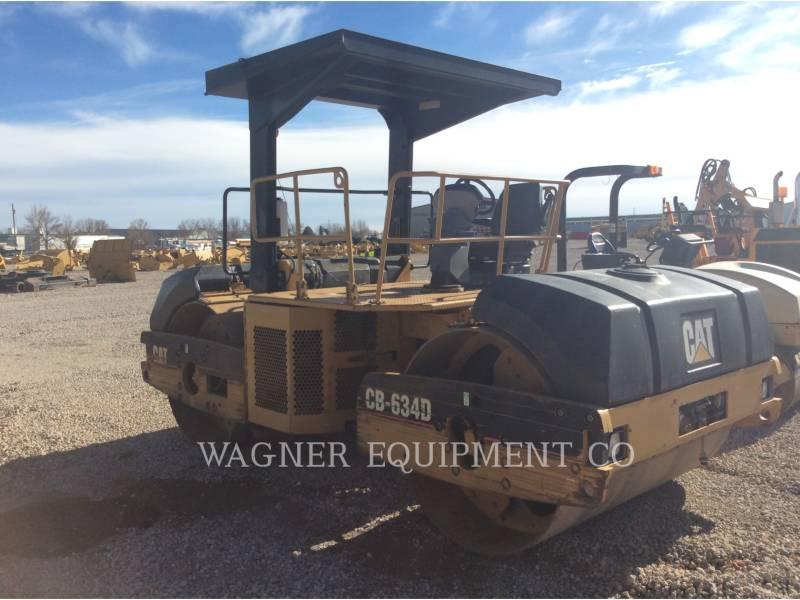CATERPILLAR COMPACTORS CB-634D equipment  photo 2