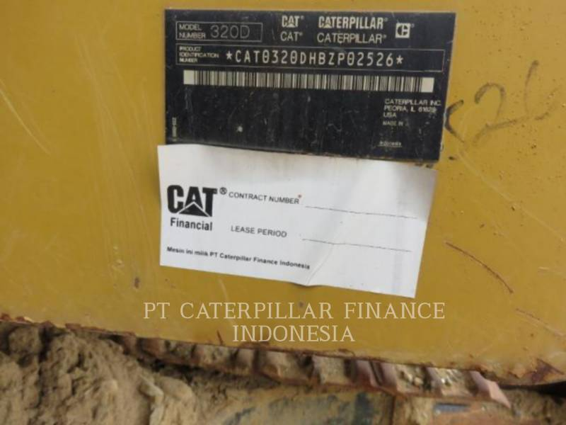 CATERPILLAR PELLES SUR CHAINES 320D equipment  photo 11