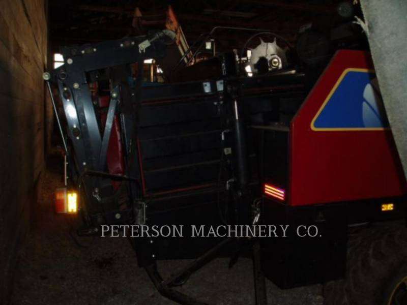 NEW HOLLAND LTD. MATERIELS AGRICOLES POUR LE FOIN BB960A equipment  photo 8