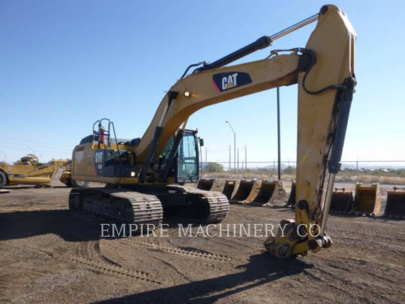 CATERPILLAR PELLES SUR CHAINES 336EL HYB equipment  photo 1