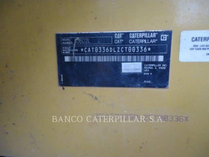 CATERPILLAR RUPSGRAAFMACHINES 336D2L equipment  photo 5