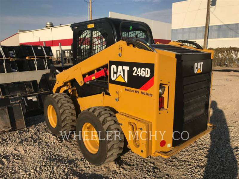 CATERPILLAR CHARGEURS COMPACTS RIGIDES 246D C3HF2 equipment  photo 1