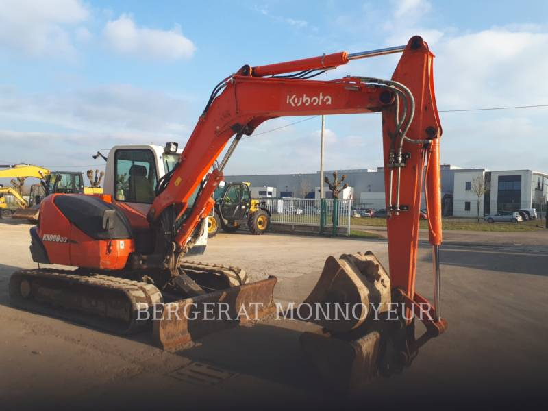 KUBOTA TRACTOR CORPORATION TRACK EXCAVATORS KX080.3 equipment  photo 9