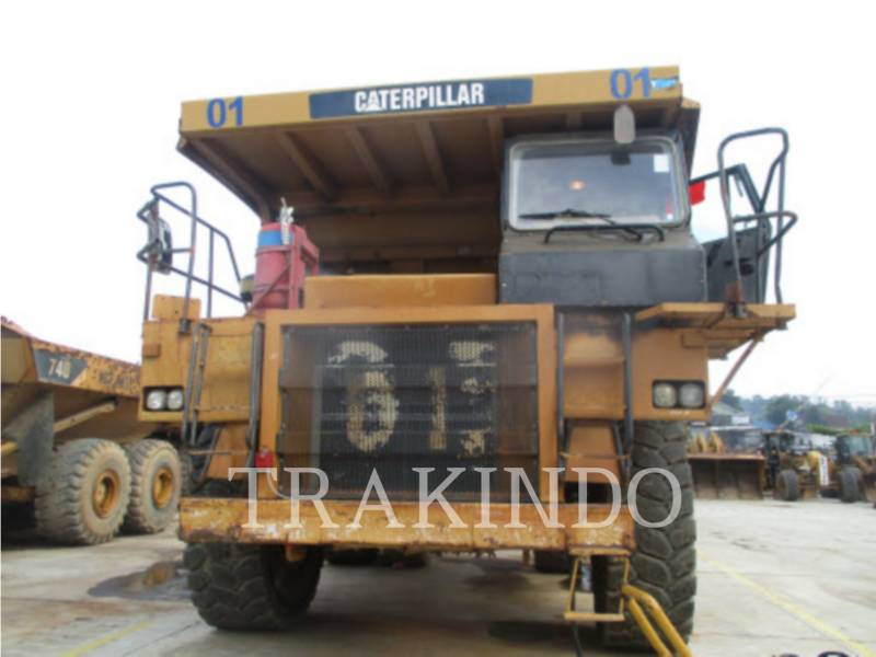 CATERPILLAR DUMPER A TELAIO RIGIDO 773DLRC equipment  photo 3