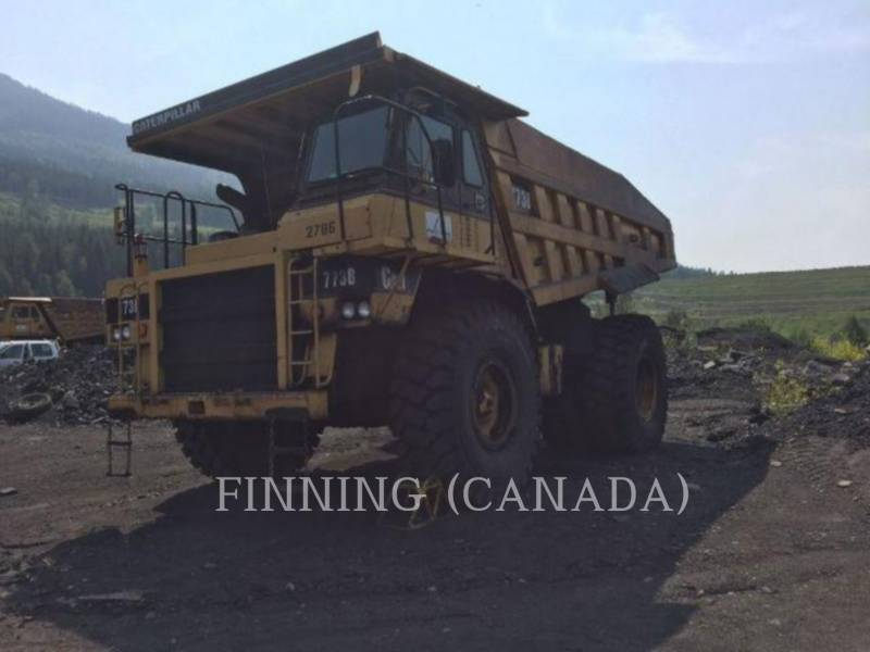 CATERPILLAR STARRE DUMPTRUCKS 773B equipment  photo 3