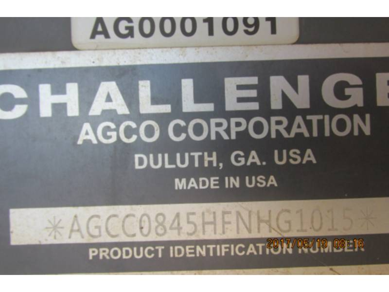 AGCO-CHALLENGER AG TRACTORS MT845E equipment  photo 15