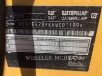 CATERPILLAR BACKHOE LOADERS 420F2 E equipment  photo 9