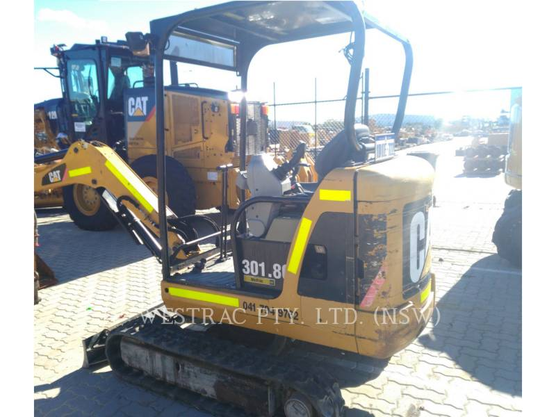 CATERPILLAR PELLES SUR CHAINES 301.8C equipment  photo 7