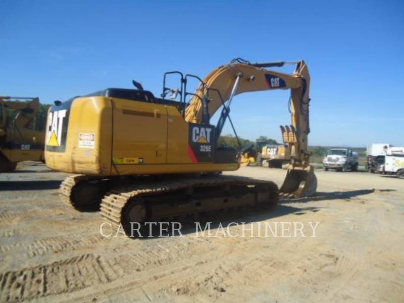 CATERPILLAR TRACK EXCAVATORS 329EL CFTS equipment  photo 4