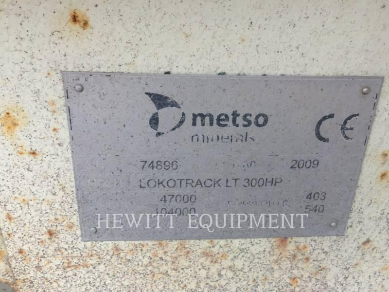 METSO CRUSHERS LT300HP equipment  photo 5