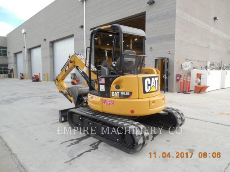 CATERPILLAR TRACK EXCAVATORS 305.5E2CRT equipment  photo 3